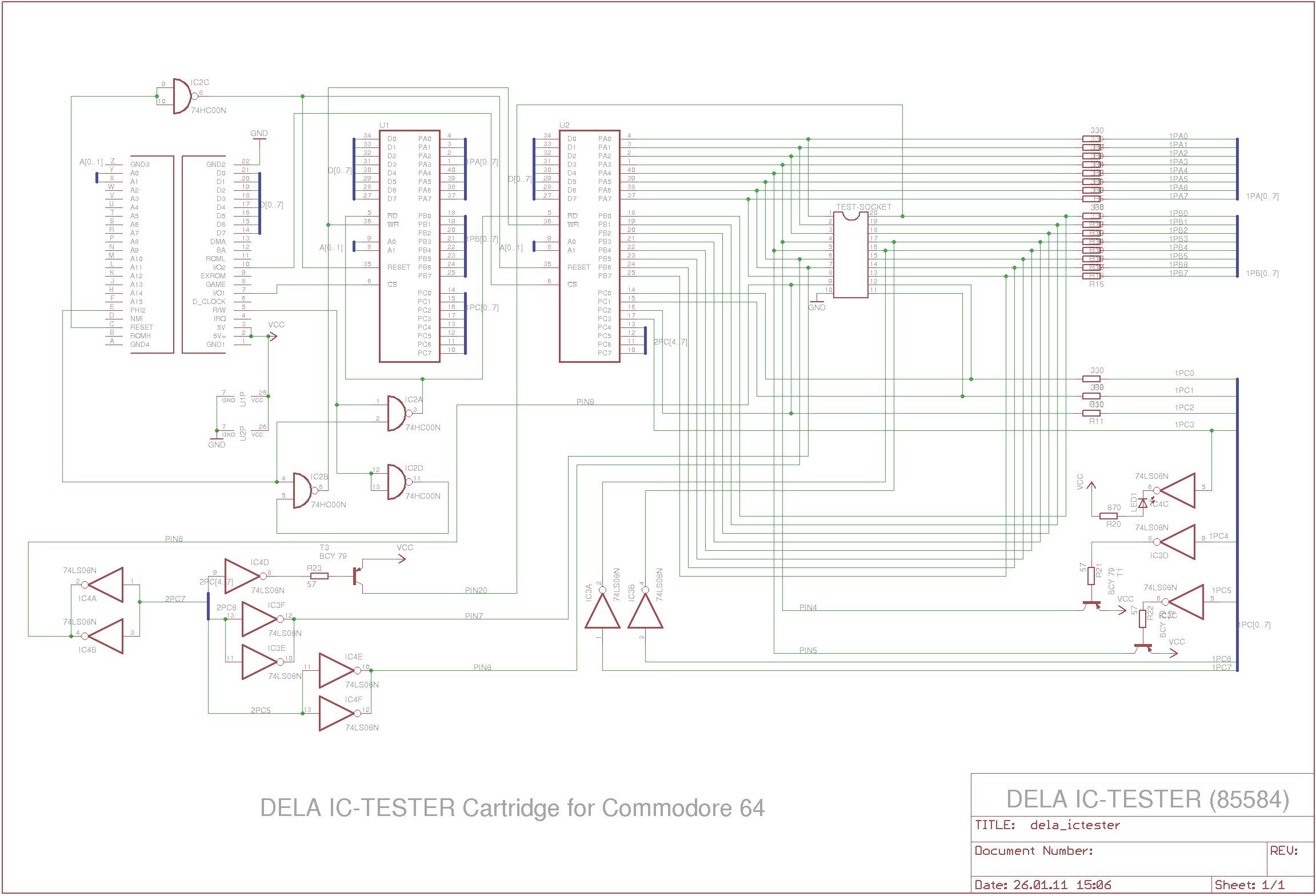 Dela IC-Tester